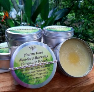 Amrita Park Meadery Beeswax Timber & Leather Polish