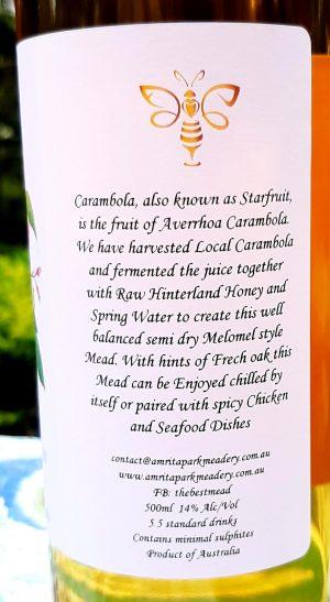 Carambola Mead (star fruit)