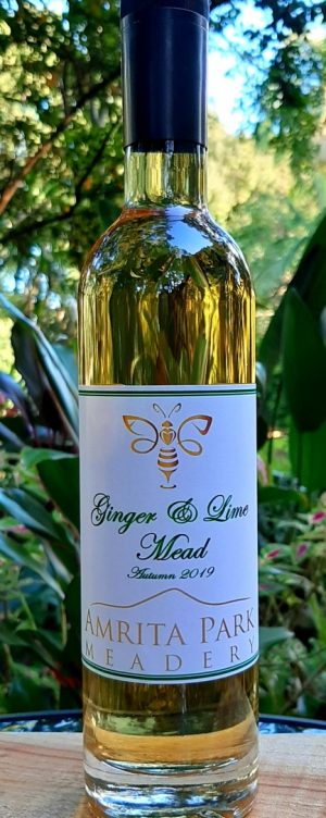 Ginger & Lime Mead 2019